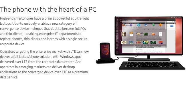 Ubuntu PC y móvil