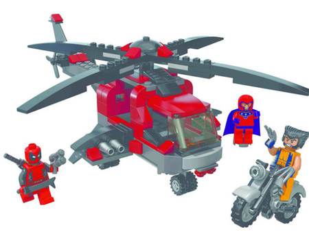 LEGO incluye a Lobezno en su línea de juguetes sobre super héroes
