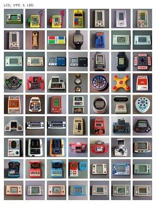 661 consolas portátiles desde 1970 a 1989