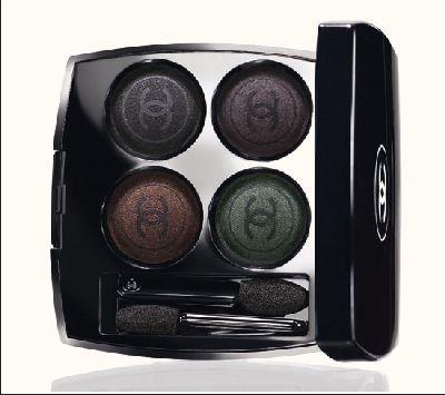 Paleta de sombras de ojos Chanel Les Noirs Obscurs