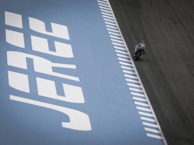 Jorge Lorenzo empieza mandando en Jerez los dos libres del viernes