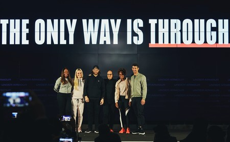 Michael Phelps, Natasha Hastings y otros atletas presentan la campaña The only way is through de Under Armour
