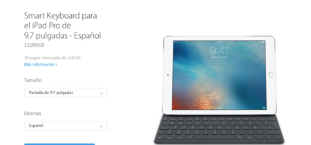 El Smart Keyboard del iPad Pro ya está disponible en español