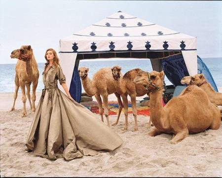 Sanne Vloet protagoniza la campaña Primavera-Verano 2015 de Ralph Lauren Collection