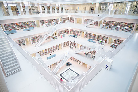 The City Libary Stuttgart Germany