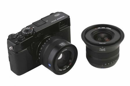 Zeiss anuncia nueva línea de objetivos compatibles con Sony NEX y Fujifilm X