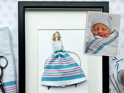 La ropa que tus hijos ya no usan convertidas en obra de arte