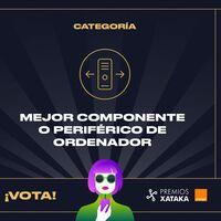 Mejor componente o periférico de ordenador: vota en los Premios Xataka Orange 2021
