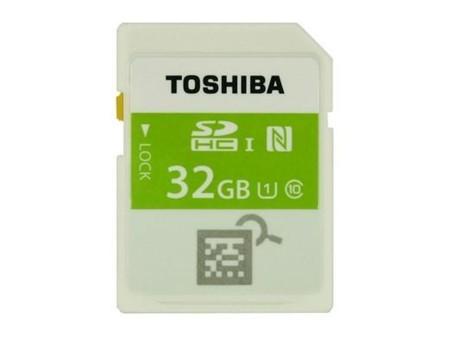 Toshiba crea la primera tarjeta SD con conectividad NFC