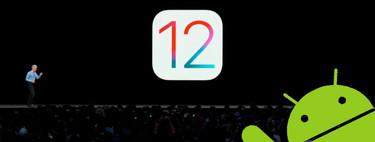 Cuando tú vas, yo vengo: ocho novedades de iOS 12 que ya teníamos en Android
