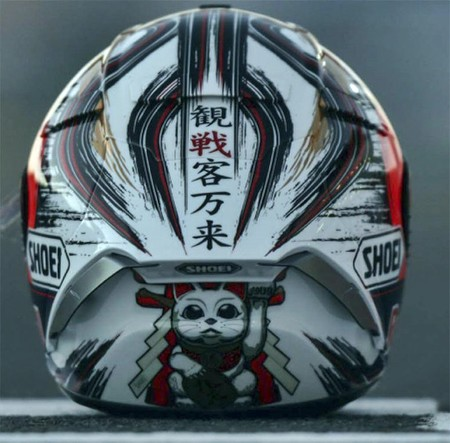Shoei Casco Marquez Motegi Japon 2016 3