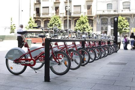 Bici compartida en Zaragoza