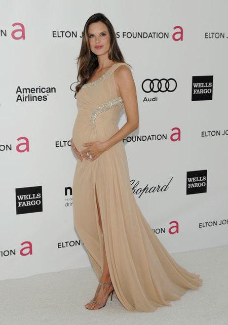 Alessandra Ambrossio fiesta Elton John Oscars 2012