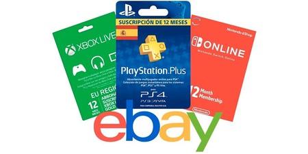 Tarjetas Ebay
