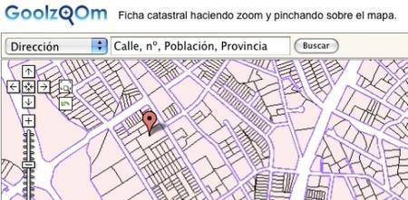GoolZoom, Google Maps con información catastral