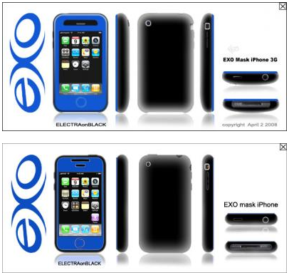 ¿Fundas del iPhone 3G reveladas?