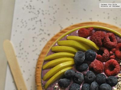 Cómo hacer açaí bowl, el desayuno más saludable (con vídeo receta)