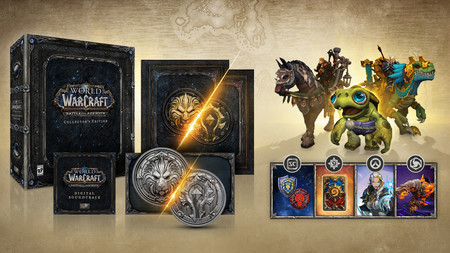 Wow Battle For Azeroth Edicion Coleccionista