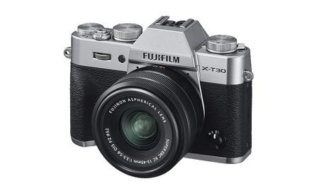 Fujifilm X T30 15 45 Silver