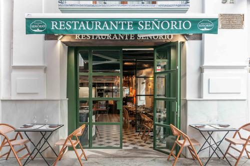 Restaurante Señorío, el nuevo templo de los productos ibéricos en Sevilla