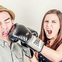 El puñetazo de un hombre es un 162 % más fuerte, de promedio, que el de una mujer