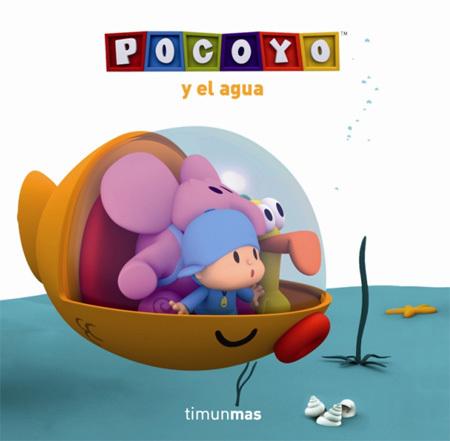 Libro acuatico Pocoyo