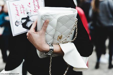 Paris Fashion Week Fall Winter 2015 Street Style Pfw Chanel 1