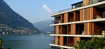 Vacaciones de lujo en Il Sereno en el Lago de Como, con ambientes creados por Patricia Urquiola