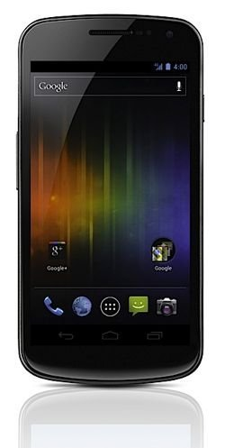 Pantalla del Samsung Galaxy Nexus