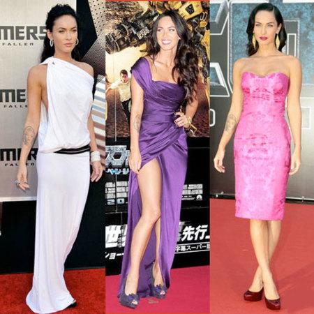 Megan Fox en las premieres de Transformers, su mejor estilo