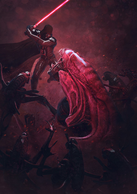 Guillem H Pongiluppi 501 St Legion Vader S Fist Vs Space Cockroaches 10 Guillemhp