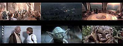 Ver los 6 episodios de 'Star Wars' a la vez