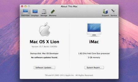 Mac OS X Lion funciona con los procesadores Core Duo y Core Solo gracias a un pequeño truco