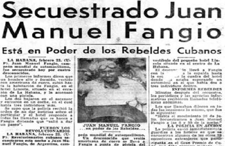 Fangio Cuba 1958