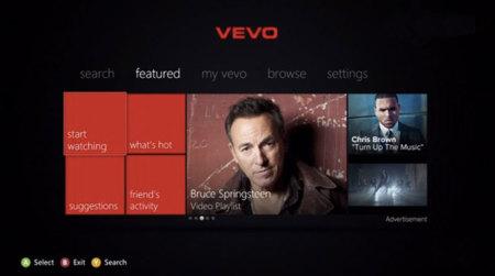 VEVO se estrena en Xbox Live, aunque por ahora no en España