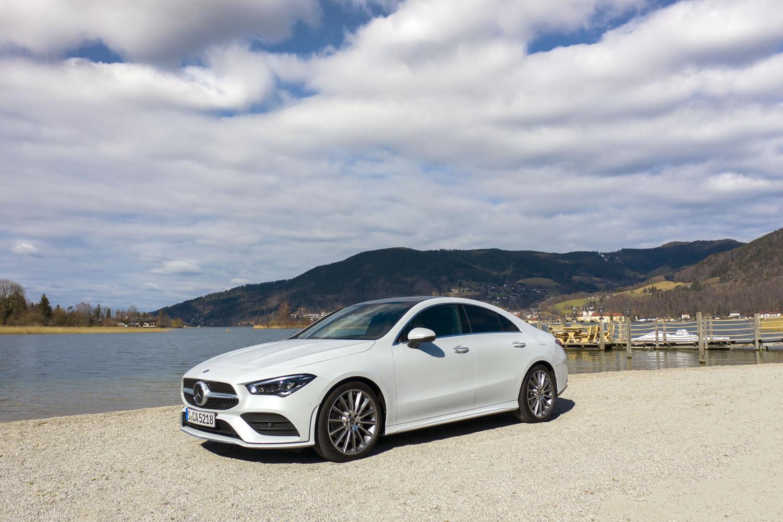 Foto de Mercedes-Benz CLA Coupé 2019, toma de contacto (145/248)