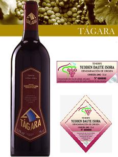 Tágara Tinto un gran vino de la D.O Ycoden Daute Isora
