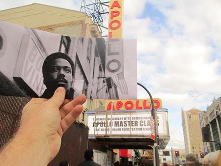 Fotogramas de cine superpuestos a su localización real en FILMography