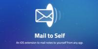 Mail to Self, la extensión de iOS obligatoria para todo amante del correo electrónico