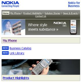 Nokia for Business .mobi