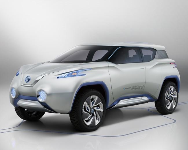 Nissan Terra hidrógeno frontal