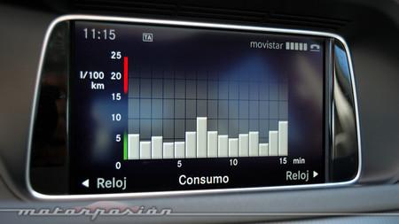 Mercedes-Benz E 220 CDI consumo
