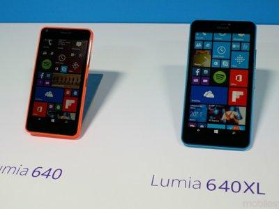 Microsoft confirma que el Lumia 640 será el primer terminal en tener Windows 10