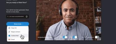Meet Now es la nueva función para poder videollamar con Skype en pocos clicks y aunque no tengamos la app instalada