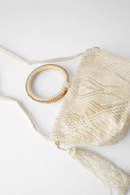 Bolso Saca Asa Bambu Zara