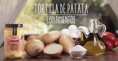 Tortilla de patata preparada con Torti-ya! [videoreceta]