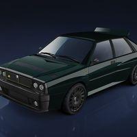 El Lancia Delta Integrale vuelve... aunque como un restomod, gracias a Automobili Amos