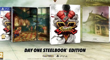 Street Fighter V Steelbook 672x372