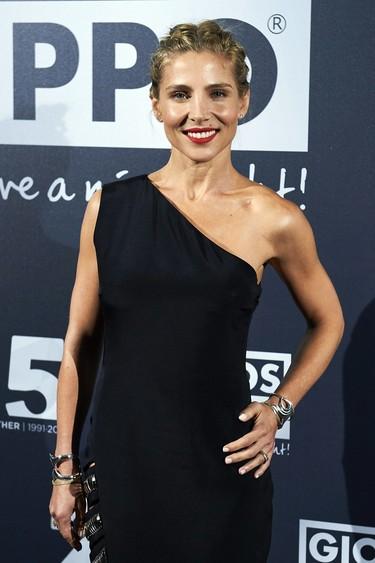 Elsa Pataky, espectacular con un vestido asimétrico