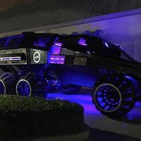Este bestial vehículo que parece batmóvil es con el que la NASA quiere explorar Marte